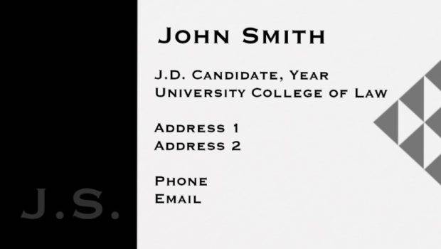 Student Business Card Designs Examples Psd