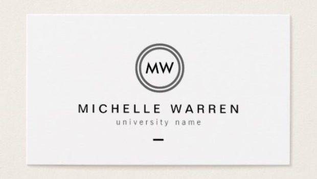 Student Business Card Template Theveliger