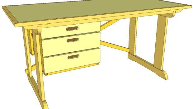 Student Desk Plans These Knock Down