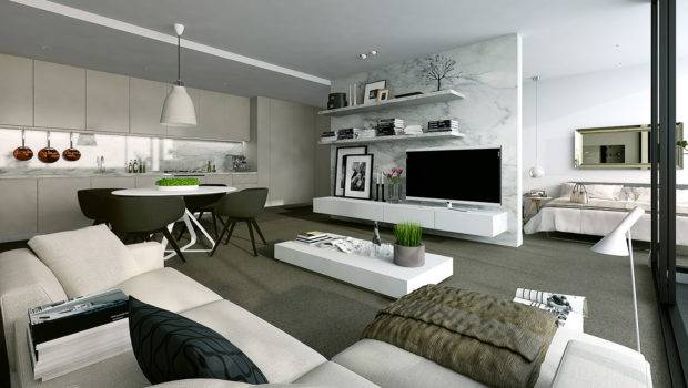 Studio Apartment Interiors Inspiration