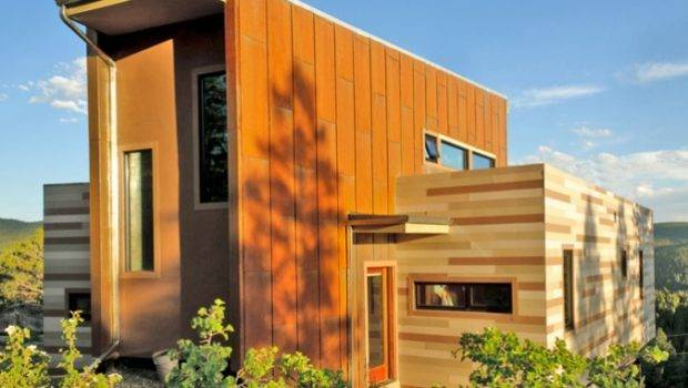 Studio Shipping Container House Colorado