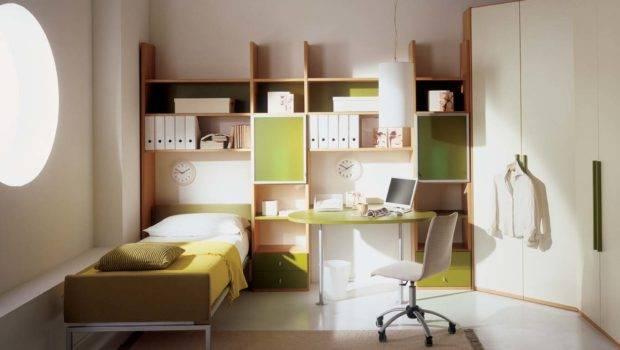 Study Table Bedroom Interiors Photos