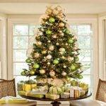 Stunning Above Other Parts Green Christmas Tree