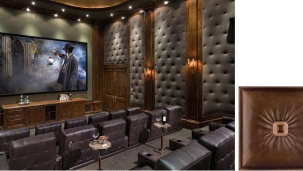 Stunning Faux Leather Wall Panels Transform Room Drab Fab