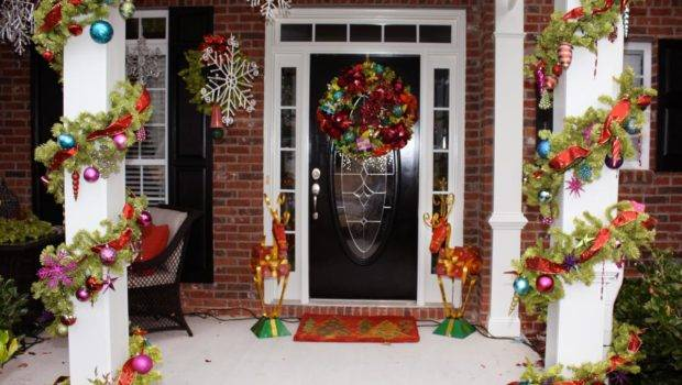 Stunning Outdoor Christmas Displays Interior Design Styles Color