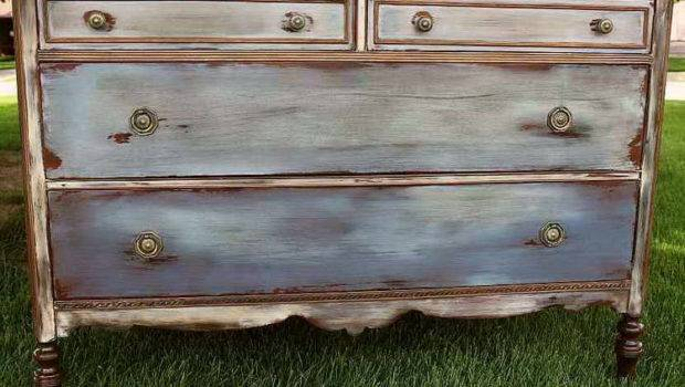 Style Antique Furniture Painting Vintage