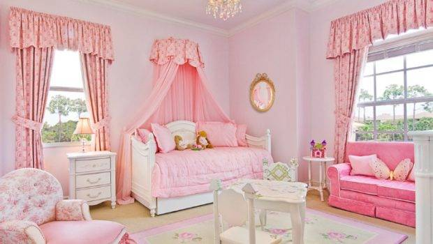 Style Bedrooms Design Inspiration Interior Girly Girl Vintage