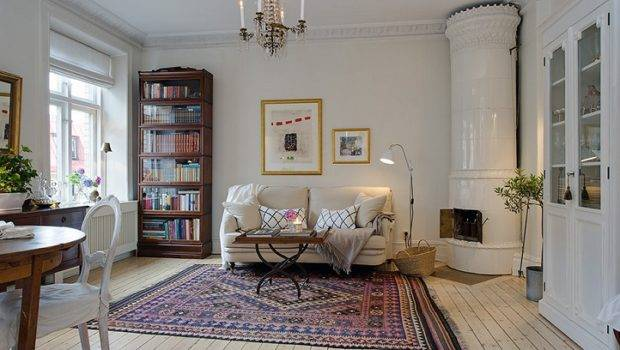 Style Swedish Apartment Design Country Decorating Ideas