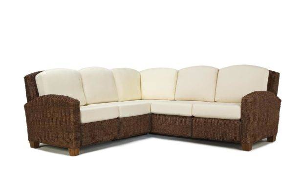 Styles Cabana Banana Shape Sectional Sofa Commerce