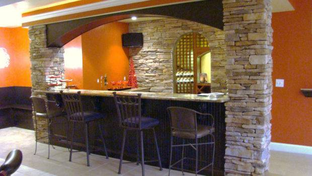 Stylish Home Bar Basement Decosee