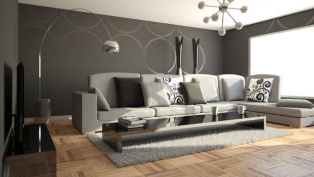 Stylish Minimalist Living Room Modern Decoration Look