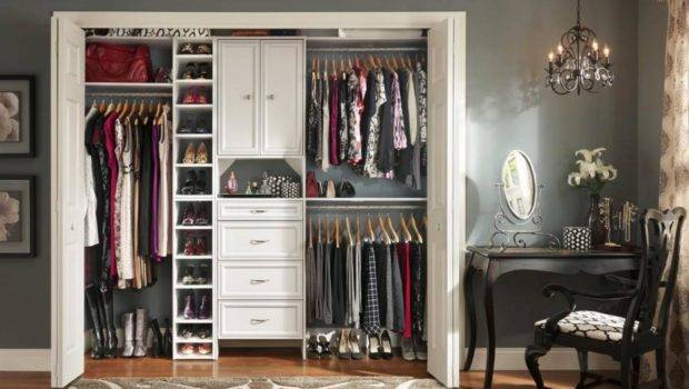 Stylish Reach Closets Home Remodeling Ideas Basements