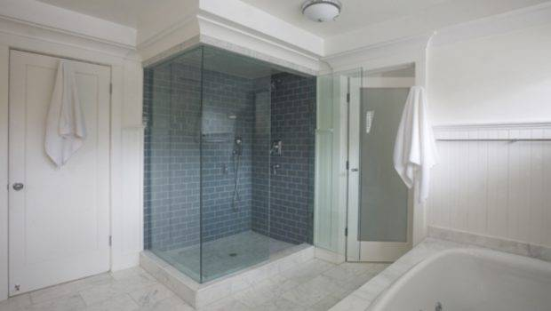 Subway Tiles Bring New Life Outdated San Francisco Bathroom