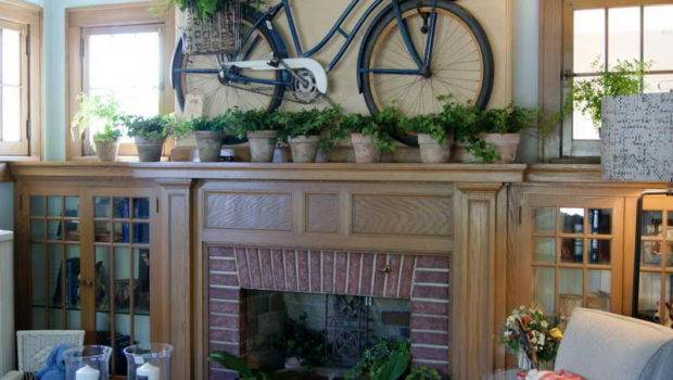 Summer Hearth Decorations Ideas Beautiful