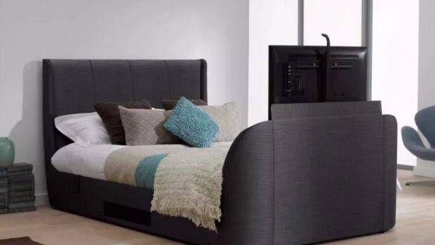 Super King Bed Frame Including Built Speakers