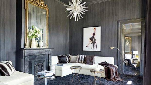 Superbly Refined Gray Living Room Designs Rilane