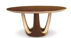 Surely Like Round Wood Dining Table Design Looks