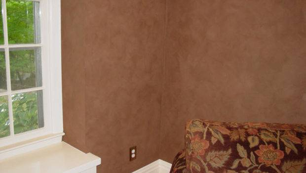 Surfaces Paint Faux Suede Wall Finish