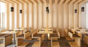 Sushi Pearl Plan Associated Architects Faro Portugal Retail