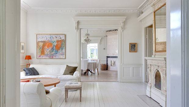 Sweden Interior Design Files White Villa