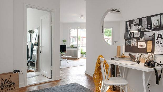 Swedish Crib Defined Meticulously Renovated Interiors Playful