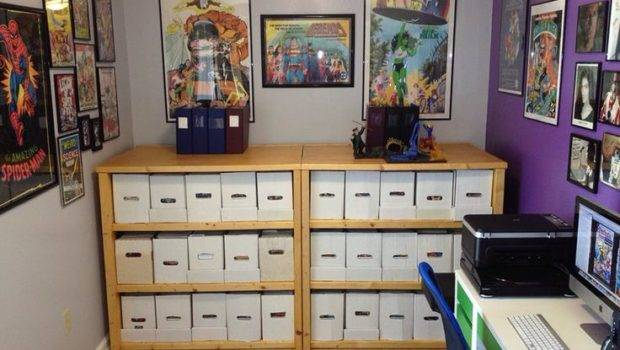 Sweet Comic Book Shelves Room Pinterest
