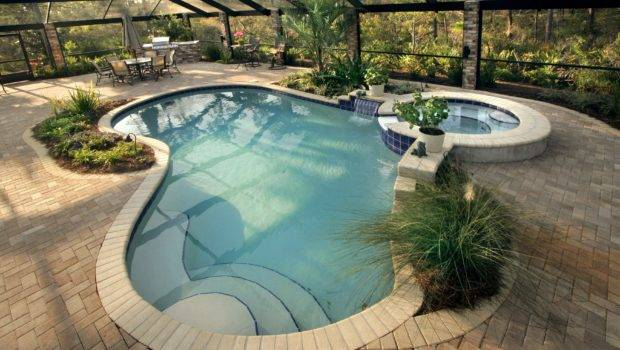 Swimming Pool Deck Ideas Above Ground Home Pools Eas