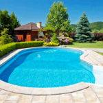 Swimming Pool Landscaping Modern Design Homefurniture