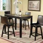 Tall Dining Table Sets Small Space Design Classic