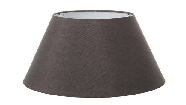 Tall Wooden Lamp Mouse Grey Shade Pastel Lane