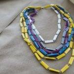 Tape Paper Clips One Cool Necklace Craft Ideals Pinterest