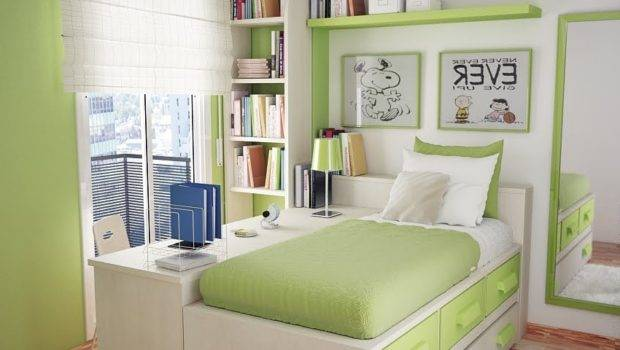 Teenage Beds Small Rooms Space Bedroom Designs