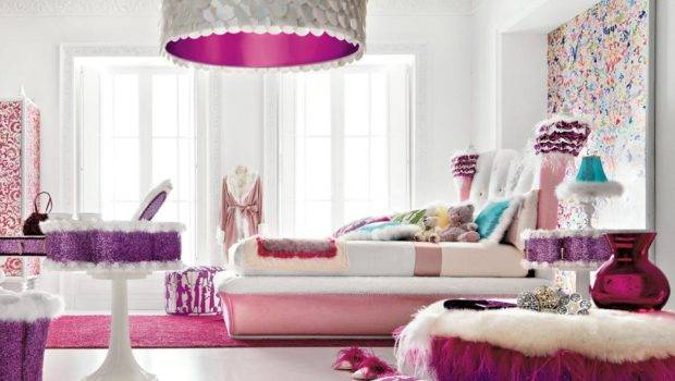 Teenage Girls Bedroom Design