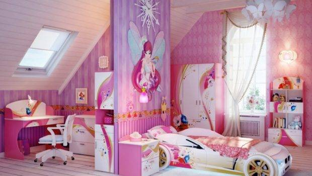Teenage Girls Cool Shaped Beds Design Furniture
