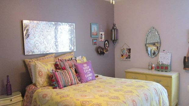 Their Daughters Room Has Bohemian Vibe Bedding Macy