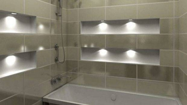 Theme Ideas Small Bathroom Wall Tile Futuristic