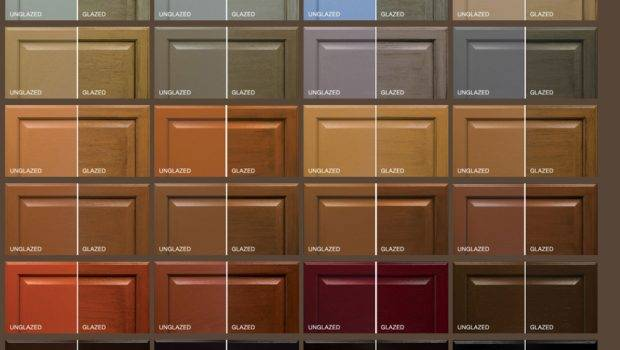 There Many Options Chose Cabinet Colors