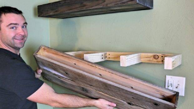 These Good Looking Diy Floating Shelves Super Easy