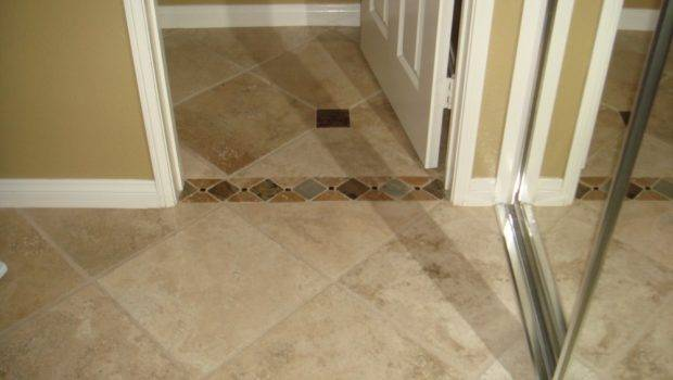 These Travertine Floor Tiles Look Great Wall Color