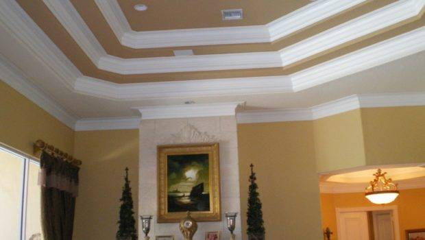 They Painted Ceiling Looks Like Racing Stripes Such
