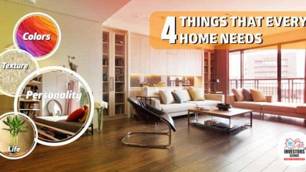 Things Every Home Needs Investors Clinic Blog