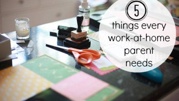 Things Every Work Home Parent Needs Happiest