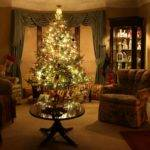 Think Living Room Oozes Christmas Say Myself Funny