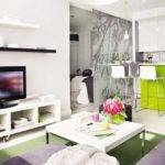 Thoughtful Interior Design Small Square Meter Apartment