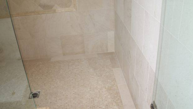 Tile Bathroom Marble Shower