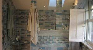Tile Designs Walk Shower Bathrooms Bathroom