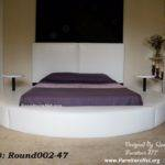 Time Offer Round Bed Eve Made Usa Designed
