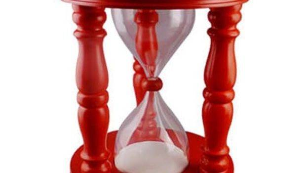 Time Out Timer Stool Giant Sand Large Hourglass