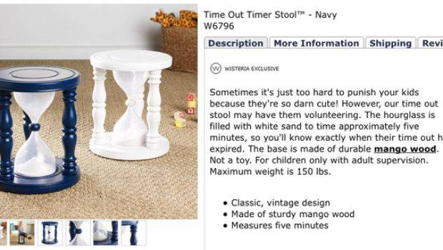 Time Out Timer Stool Take Five Day