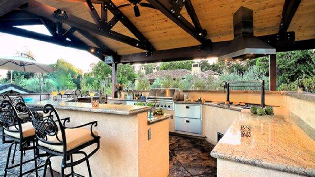 Tips Get Appropriate Outdoor Kitchen Ideas Actual Home